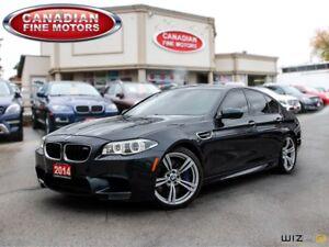 2014 BMW M5 TECH PKG-H.U.D-ONE OWNER 560HP!!