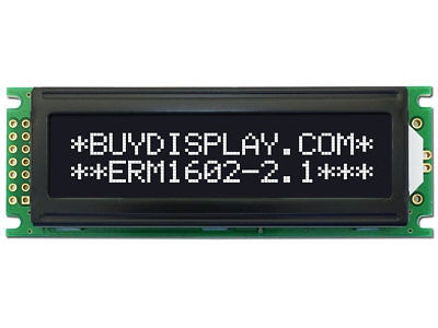 5v Black 16x2 Character Lcd Display Module Wtutorialhd44780white Backlight
