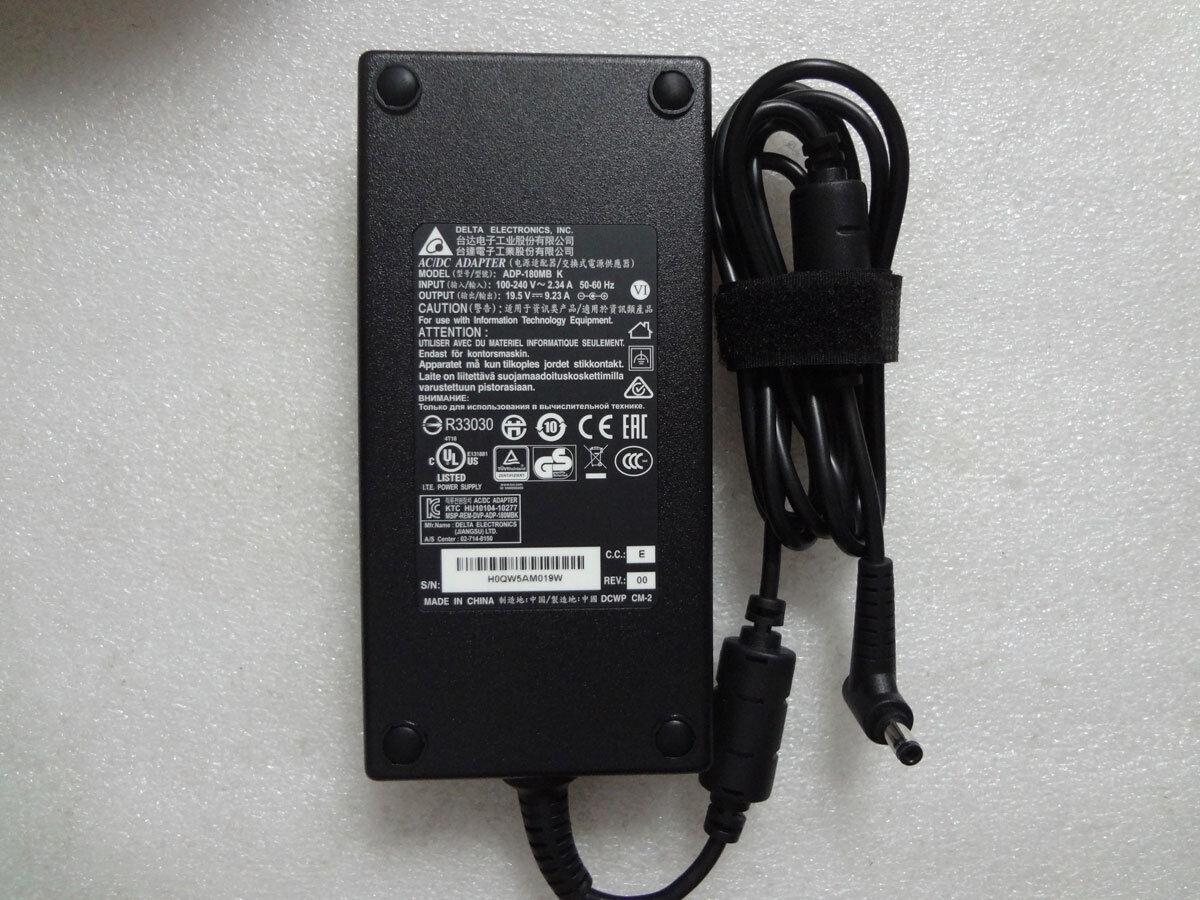 Original OEM Delta 19.5V 9.23A AC//DC Adapter for MSI GS73VR STEALTH PRO//GTX1060