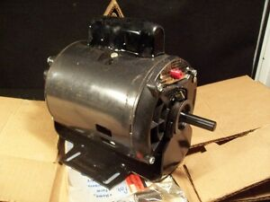 Craftsman 1 2 hp motor ebay for Double ended shaft electric motor
