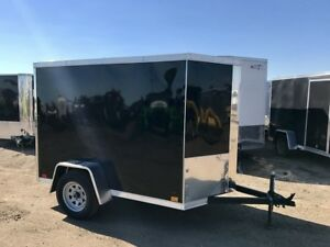 2018 Cross Trailers 5x8 S/A Enclosed Cargo Trailer
