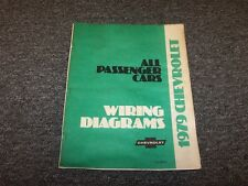 1979 Chevy Malibu Factory Electrical Wiring Diagram Manual ...
