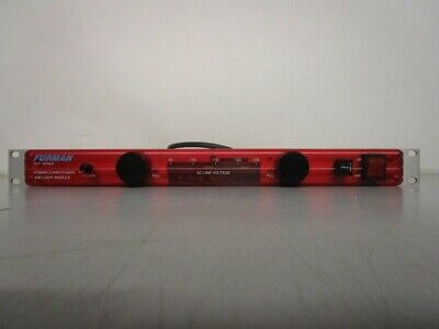 FURMAN PLP-RED POWER CONDITIONER AND LIGHT MODULE (MB1026362)