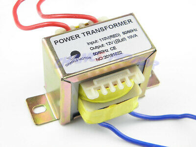 Power Transformer Input Ac 110v Output Ac 12v Power Source For Synchronous Motor
