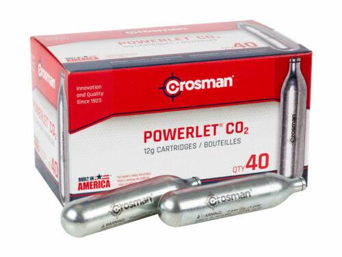 Crosman CO2 Cartridges 40 Count bulk quantity C02 12 Gram FREE FAST SHIPPING