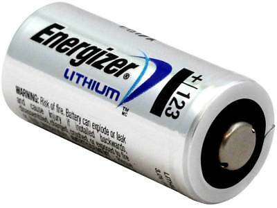 ENERGIZER 123 CR123A 123 3V LITHIUM BATTERY