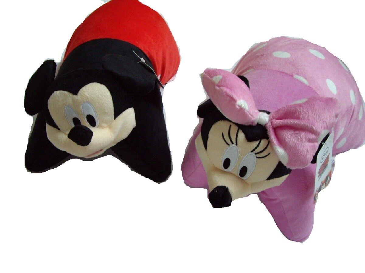 Pillow Pet Disney Mickey Minnie Mouse KuscheltierKissen Plüschtier 2in1 Kissen