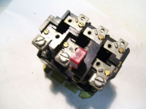 EATON CUTLER HAMMER WESTINGHOUSE AN13A THERMAL OVERLOAD RELAY P3127A