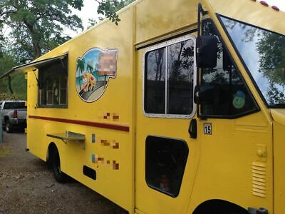 Chevrolet Turnkey Utilimaster Step Van Food Truck Mobile Kitchen For Sale In F