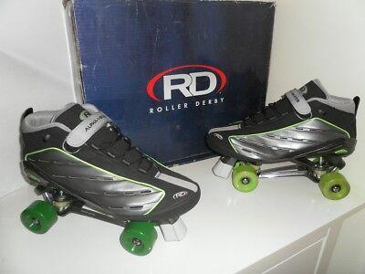 Alpha 1 roller derby quad roller skates size 6,7,8,9,10,11 not Bauer/Roces