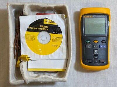 Fluke 52 Ii Dual Probe Digital Thermometer Trp026859
