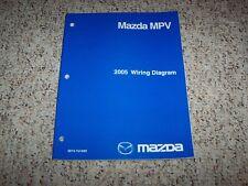 2005 Mazda MPV Minivan Electrical Wiring Diagram Manual LX ...