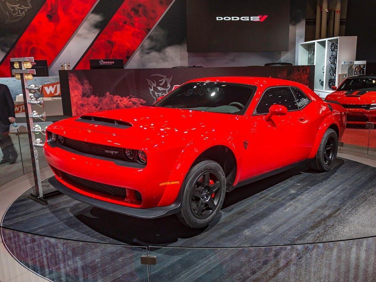 2018 Dodge Challenger SRT DEMON 2018 Dodge Challenger Demon YOU DESIGN YOUR CAR