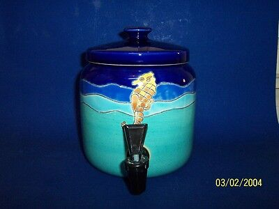 Artesa Hand Painted Tea or Juice Dispenser Made In Ecuador