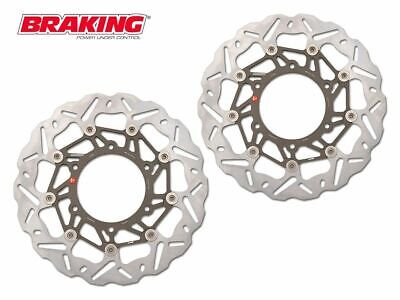 WK015L WK015R BRAKING FRONT DISCS SK2 VICTORY CROSS COUNTRY TOUR ABS 1731 15-16