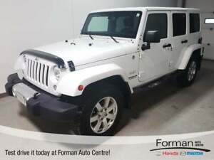 2015 Jeep WRANGLER UNLIMITED Sahara | Rmt Start - Just arrived
