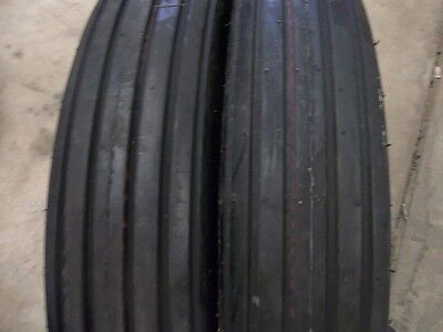 Two 650-16650x16 Rib Implement Discdo-allwagon 6 Ply Tractor Tires