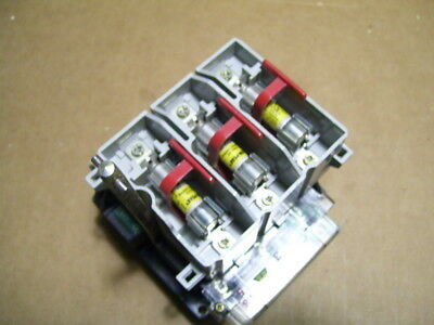 Ab Allen Bradley 194r-nc030p3 30a 600v Fused Rotary Disconnect Switch P1756