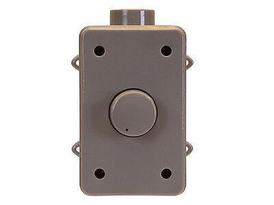 Outdoor Weatherproof Wall Mount Speaker Volume Control Controller RMS 100W Gray Wall Mount Volume Control