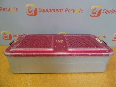 Aesculap Sterilization Container System Tray Case