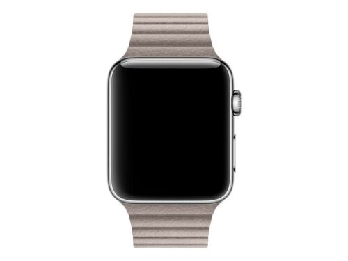 Apple Leather Loop for Apple Watch 42mm Medium Smoke Gray MNKY2AM/A