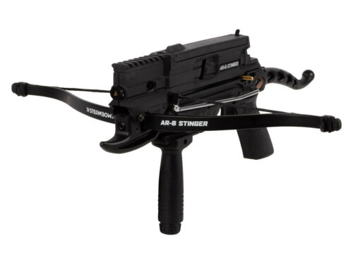 Sen-X AR-6 Tactical Arrow Repeating Crossbow by Steambow Standard Limbs