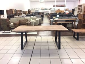 ALPS DINING TABLE NATURAL EDGE (SEESHAM) Camp Hill Brisbane South East Preview