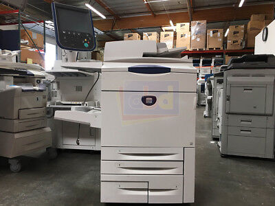 Xerox Docucolor 252 Digital Laser Production Printer Copier Scanner 65ppm 260
