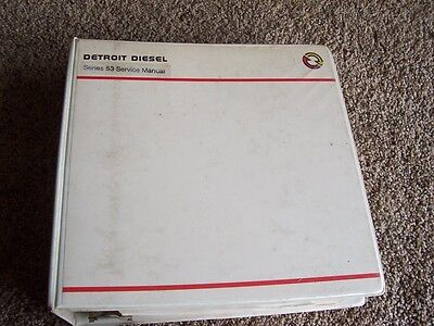 Detroit Diesel Series 53 Engine Service Repair Manual 2 3 4 6 Cylinder Inline