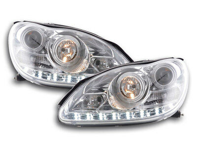 Scheinwerfer Daylight Mercedes S-Klasse W220 Bj. 02-05 chrom