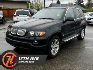 2006 BMW X5 4.4i / Leather / Heated seats / Moonroof