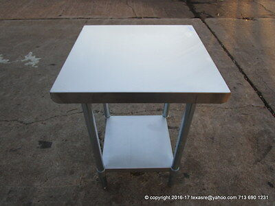 New Stainless Steel Work Prep Table 24 X 24 Nsf