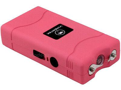 Купить VIPERTEK PINK VTS-880 30 BV Mini Rechargeable LED Police Stun Gun + Taser Case