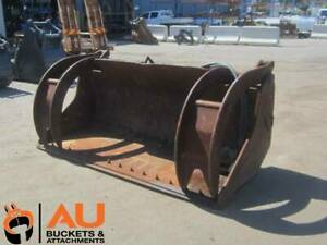 SBA HYD GRAPPLE BUCKET WITH BOLT & 50mm PIN HOLES (SB160303) Kewdale Belmont Area Preview