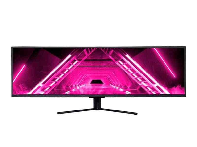 Dark Matter Monoprice 49in Curved Gaming Monitor DQHD 5120x1440p Quantum Dot