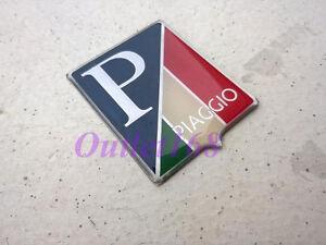 Aftermarket Piaggio 125 150 180 Vespa Super Sprint Italy Flag Badge Emblem Decal