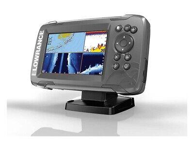 Lowrance Hook2 5 TripleShot CHIRP Sonar/GPS Combo w/ Transducer US Inland Maps
