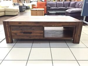 BISBEE COFFEE TABLE ANTIQUE BROWN Logan Central Logan Area Preview