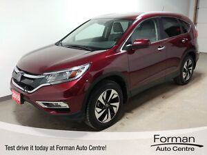 2015 Honda CR-V Touring - Local | New Tires | Navi | LOW KMs!