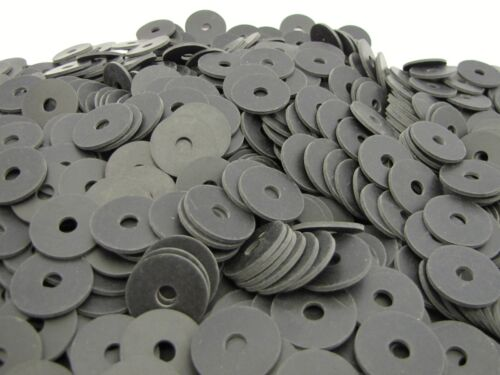 "Oil Resistant Neoprene Rubber Washers - 1"" OD X 1/4"" ID X 1/16"" Thickness"