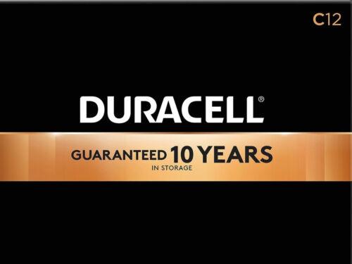 Duracell Coppertop C Alkaline Batteries 12/Pack (MN1400)
