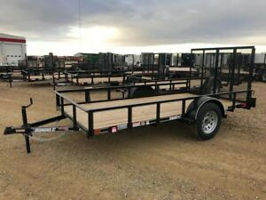 2017 Diamond C RSA612 Utility Trailer
