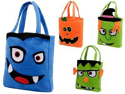 Halloween Süßigkeiten (Halloween Süßigkeiten Beutel Tasche Candy Bag Süßes oder Saures Sammeltasche )