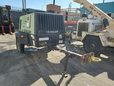 2013 Sullair 49hp185dpq-jdi4 Air Compressor