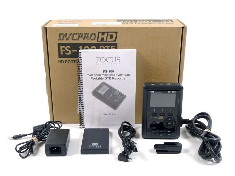 Brand New DVCPRO HD FS-100 DTE Technology HD Portable DTE Recorder