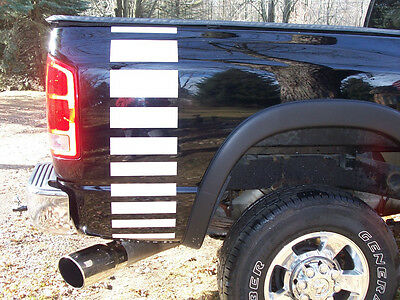 Truck Faded Bed stripes Stripe Graphics FIT ALL Dodge Ram GMC CHEVY F150 F250