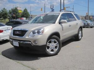 2008 GMC ACADIA SLT1 | LOW KMS!!! •Leather • Pearl