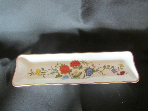 Vintage Aynsley Fine Bone China Pin Tray Famille Rose (A3*13/197)