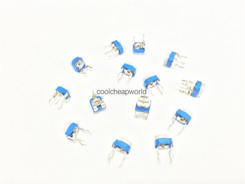 100pcs 500K Ohm 500K R Trimpot Trimmer Pot Variable Resistor Horizontal Type 504