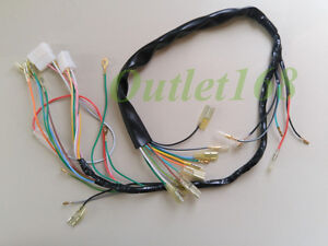 honda 125 cb125s s1 s2 cl125s main wire wiring harness loom image is loading honda 125 cb125s s1 s2 cl125s main wire